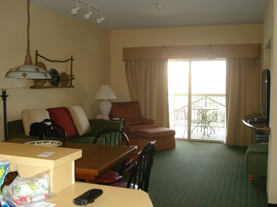 Marriott's Willow Ridge Lodge : living room