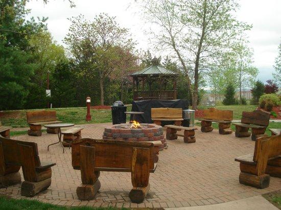 Marriott's Willow Ridge Lodge: fire pit