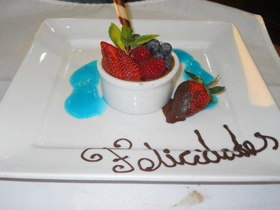 Belio Restaurant: Delicia de frutas