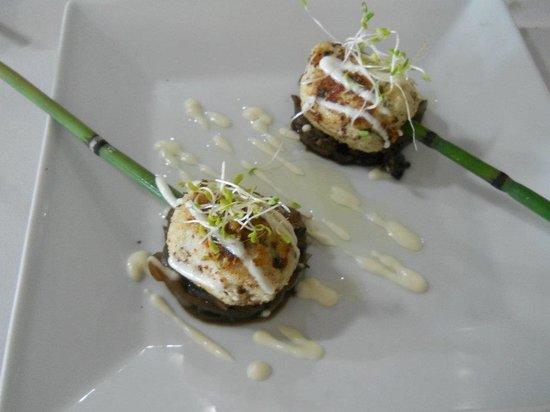 Belio Restaurant: Entrada al estilo del chef
