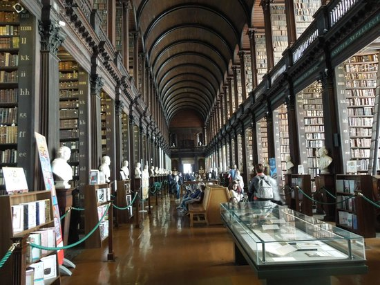 Trinity College Dublin: At Trinity College