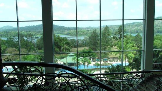 Gamboa Rainforest Resort : great view from lobby of hotel