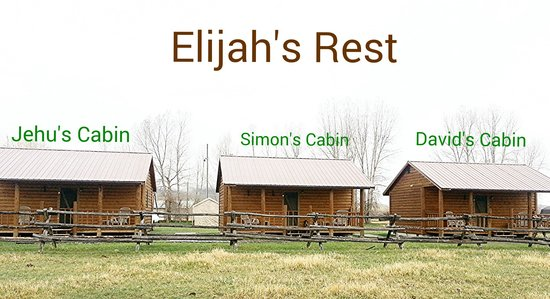 Elijah's Rest Cabins & Breakfast : Best Rest Ever