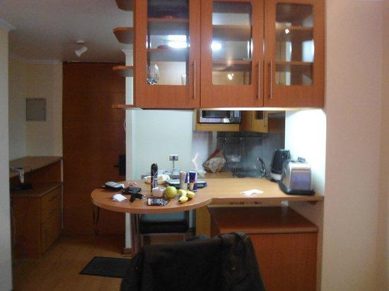 RQ Providencia: Copa e cozinha
