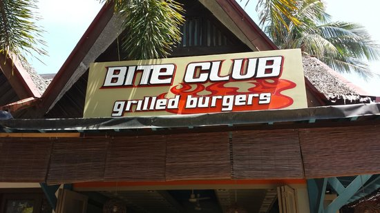 Bite Club: Signboard