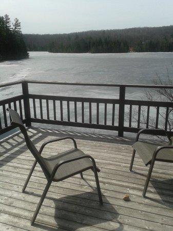 Grail Springs Retreat: Balcony
