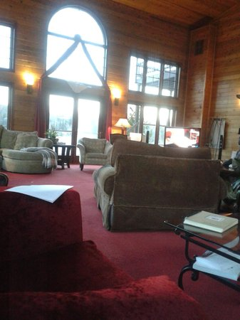 Grail Springs Retreat: Gathering room/Amazing