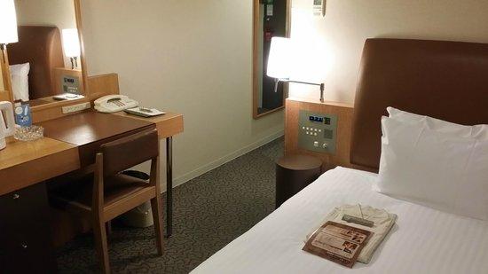 Hotel Sunroute Hakata: 客室(シングル)