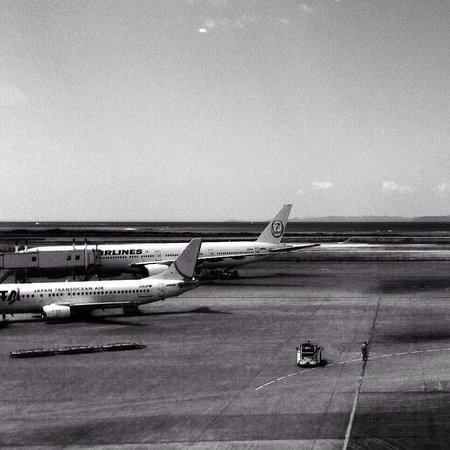 A&W Naha Aiport: View from A&W Naha Airport (L)