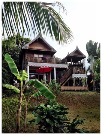Good Time Resort Koh Mak: Villa Ginger Gartenansicht