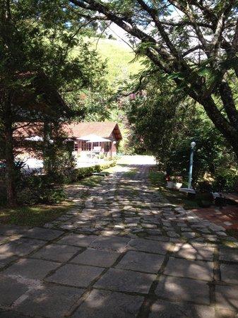 Pousada Serra da India: Área da chegada