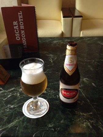 Oscar Saigon Hotel : サイゴンビール