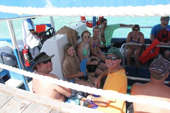 Beaches Ocho Rios Resort & Golf Club : Off to snorkel.