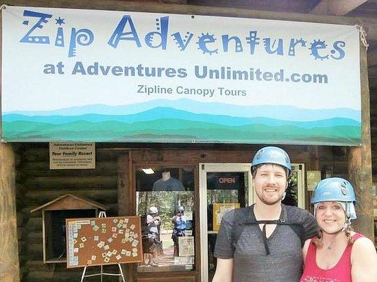Adventures Unlimited Outdoor Center: ZIP Tour
