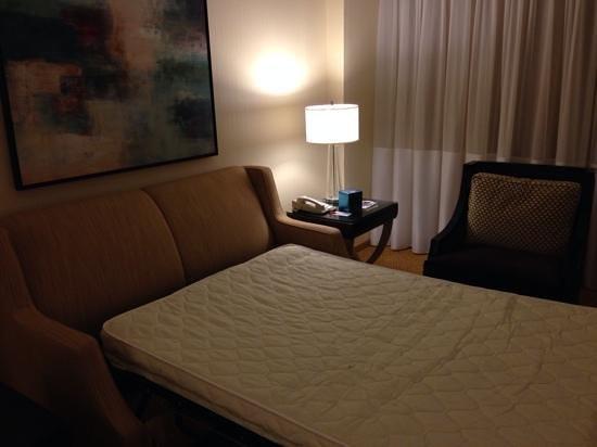 Philadelphia Marriott Downtown : Pull out sofa