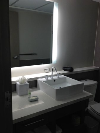 Element Dallas Fort Worth Airport North: Bathroom sink