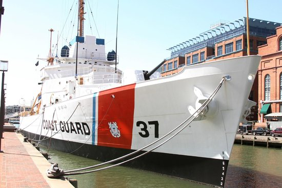 Historic Ships in Baltimore: Coast Guard Cutter Taney, last surviving ship from Pearl Harbor attack