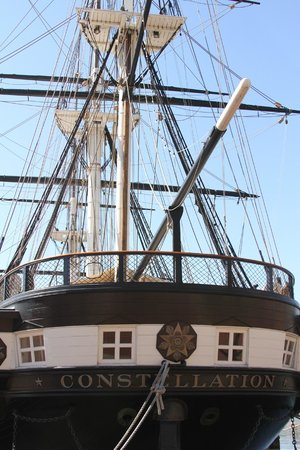 Historic Ships in Baltimore: Constellation
