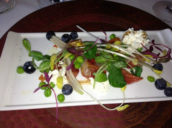 The Resort at Paws Up: seriously amazing food at Paws UP