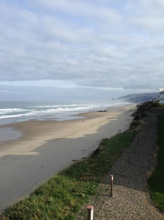 The Coho Oceanfront Lodge: view