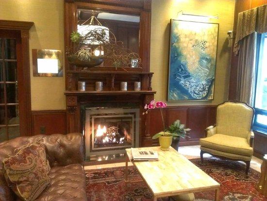 The Talbott Hotel: lobby