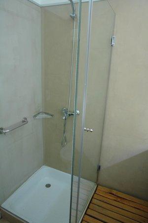 Los Ponchos Apart Boutique: Bathroom shower