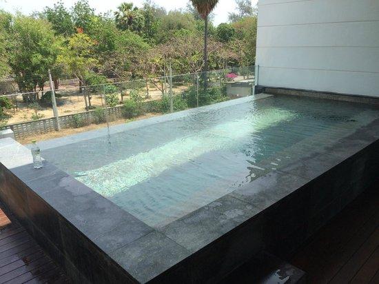Cape Nidhra Hotel: プライベートプール