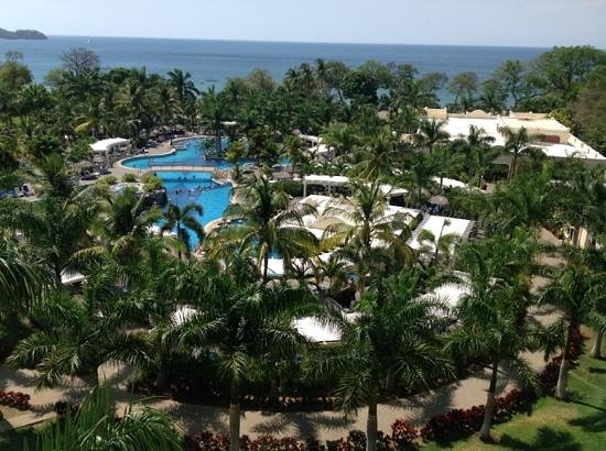 Hotel Riu Guanacaste: View from our room on the 4th floor...