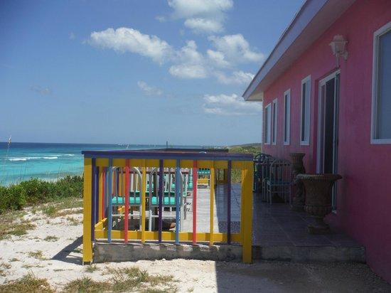 The Ocean Dream Beach Resort: Outside of restaurant