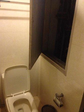Hotel Saptagiri & ZO Rooms: Les toilettes