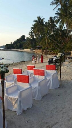 The Island View Restaurant : The gorgeous set up