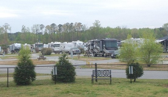 RV Resort at Carolina Crossroads: View of Park from Dog Park
