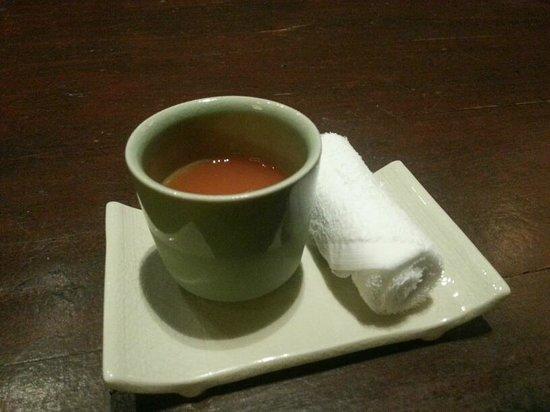 Four Seasons Resort Chiang Mai: Welcome Drink~