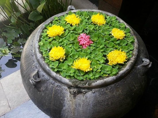 Four Seasons Resort Chiang Mai: Flower decoration