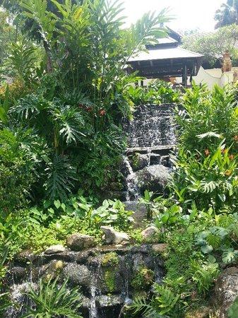 Four Seasons Resort Chiang Mai: Water Fall inside the hotel garden