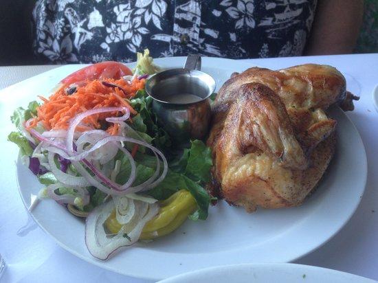 Cafe Citti: Enjoying Calamari Salad