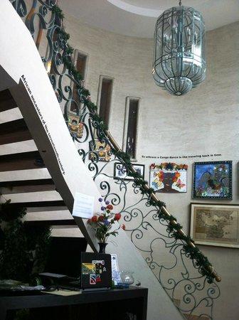 Casa Ramirez : Hall de entrada. Escalera
