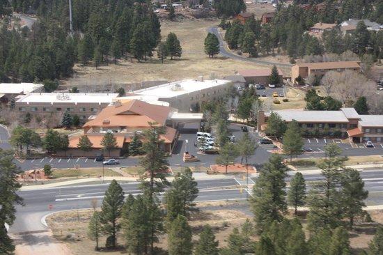 Best Western Premier Grand Canyon Squire Inn : Vue aérienne de l'hôtel