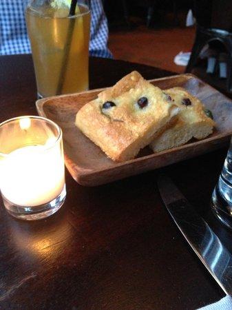 Locanda Verde: Focaccia Bread