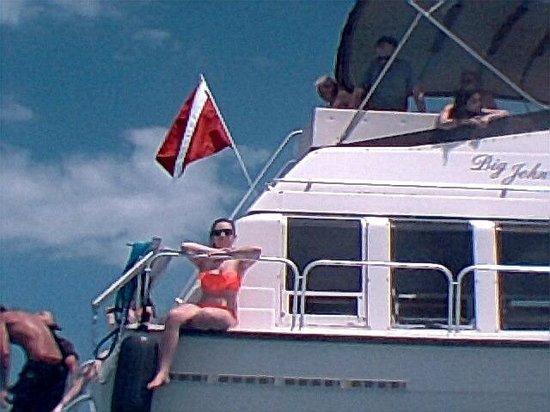 Acquarius Sea Tours: the boat