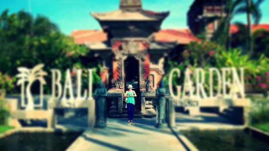 Bali Garden Beach Resort: St view