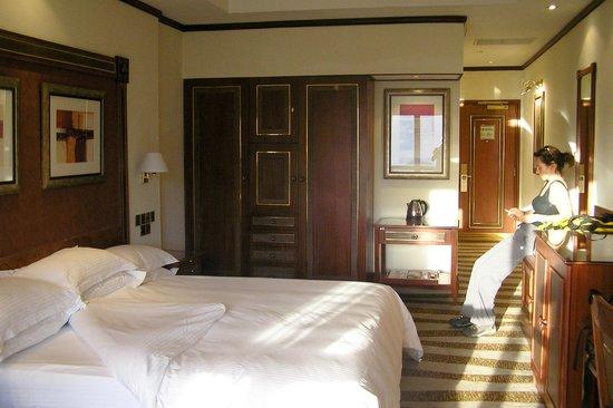 Kigali Serena Hotel: View from balcony