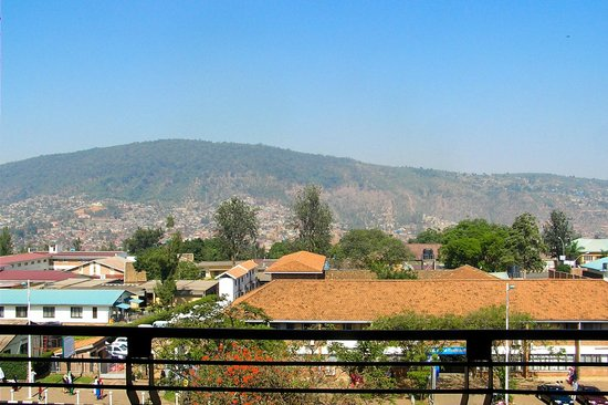 Kigali Serena Hotel : Looking straight out balcony