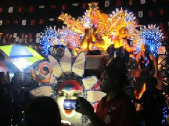 Electric masskara