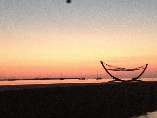 The point at Casa morada at sunset!