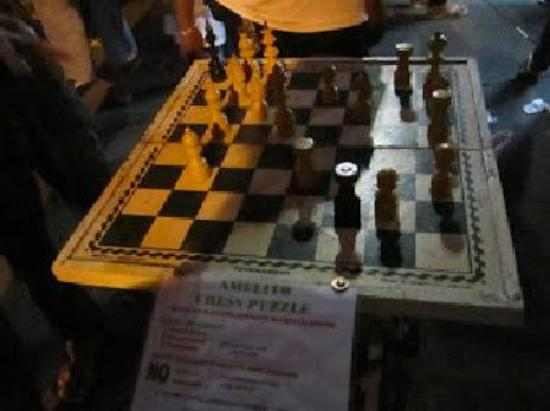 Chess for grabs