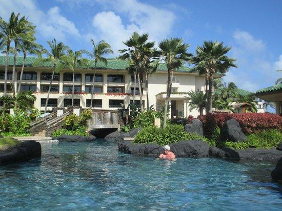 Grand Hyatt Kauai Resort & Spa: Area of adult pool