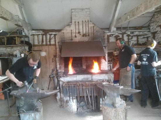 West Country Blacksmiths at Allerford Forge: Allerford Forge