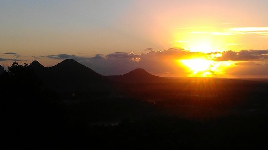 Uluramaya Retreat Cabins : View from the deck