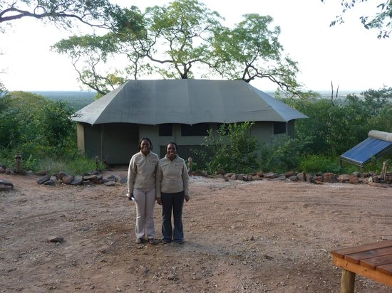 Ghoha Hills Savuti: Molly and Ketshele bid us a fond farewell